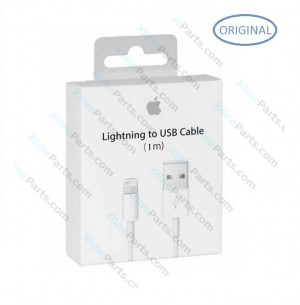 Data Cable USB Apple iPhone Lightning 1M white (Original)