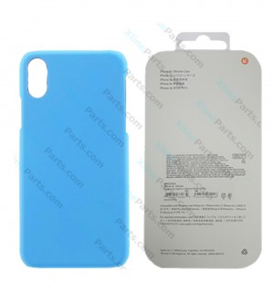 Back Case Apple iPhone X/XS Hard Case blue