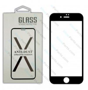 Tempered Glass Screen Protector Apple iPhone 6+7+8 Plus black*