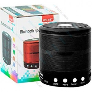 Bluetooth Speaker WS-887 black