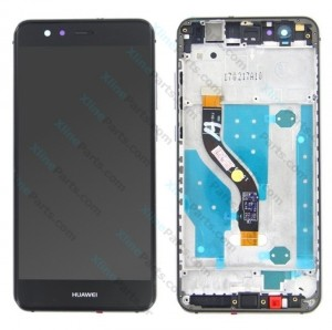 LCD with Touch and Frame Huawei P10 Lite black OCG