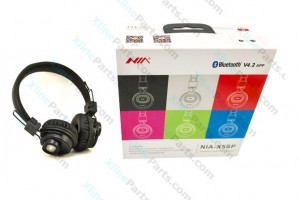 Bluetooth Headphone Nia X5sp black AAA