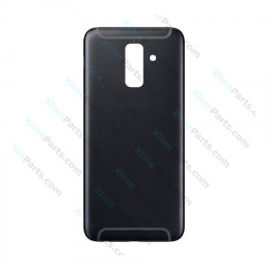 Back Battery Cover Samsung Galaxy A6 Plus (2018) A605 black
