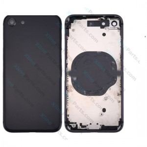 Back Battery and Middle Cover Apple iPhone 8 black Complete