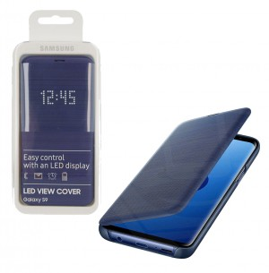 Flip Case LED View Samsung Galaxy S9 G960 blue (Original)