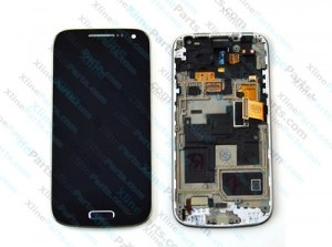 LCD with Touch and Frame Samsung Galaxy S4 Mini I9195 black OCG