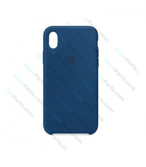 Back Case Apple iPhone XR Hard Case blue horizon