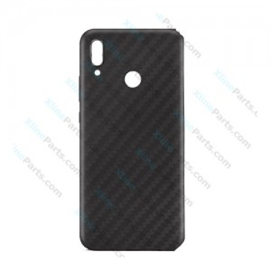 Silicone Case Carbon Huawei P20 Lite black