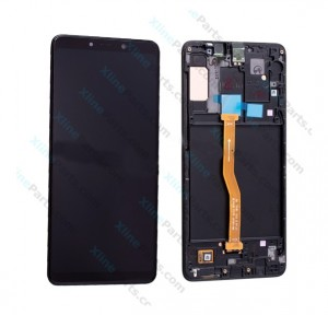 LCD with Touch and Frame Samsung Galaxy A9 (2018) A920 black (Original)