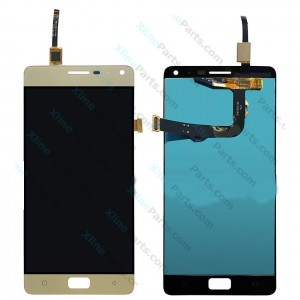 LCD with Touch Lenovo Vibe P1 gold OCG