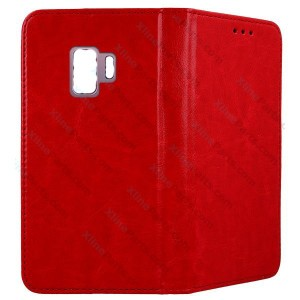 Flip Case Fancy Samsung Galaxy S9 G960 red