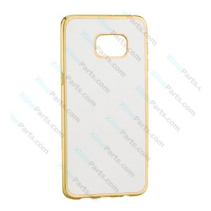 Silicone Case Electro Huawei Mate 10 Pro gold
