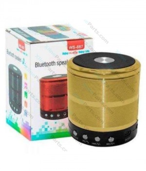 Bluetooth Speaker WS-887 gold
