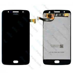 LCD with Touch Motorola Moto G5S black OCG
