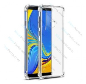 Silicone Case 360 Degree Samsung Galaxy A9 (2018) A920 Double Sided clear