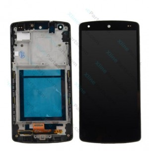 LCD  with Touch and Frame LG Nexus 5 D820 black OCG