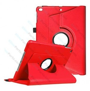 Case 360 Degree Rotate Apple iPad Air 2 red