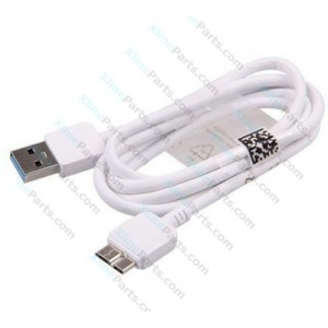 Data Cable Samsung Galaxy Note 3 N9005 MicroUsb 3.0 white (Original) bulk