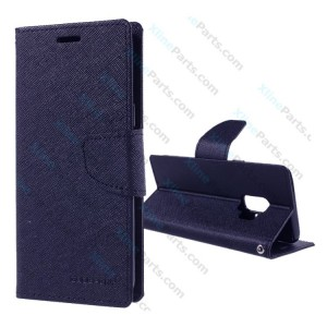 Flip Case Fancy Samsung Galaxy S9 G960 dark blue