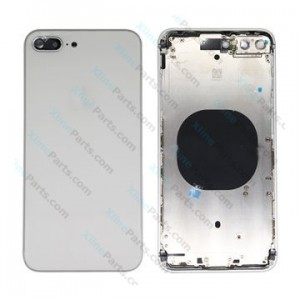 Back Battery and Middle Cover Apple iPhone 8 Plus silver Complete