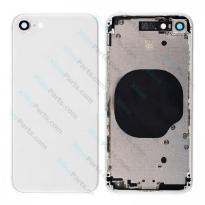 Back Battery and Middle Cover Apple iPhone 8 silver Complete
