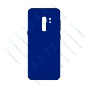 Silicone Case Carbon Samsung Galaxy S9 G960 dark blue