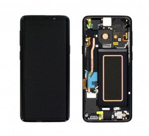 LCD with Touch and Frame Samsung Galaxy S9 G960F black (Original)