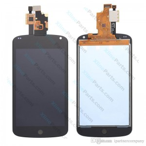 LCD with Touch LG Nexus 4 E960 black