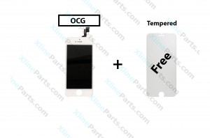 LCD with Touch Apple iPhone 5S white OCG