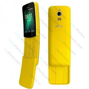 Mobile Phone Nokia 8110 4G Dual yellow