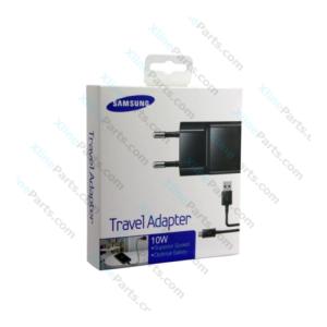 Samsung Fast Charge Cable Micro USB with USB Power Adapter 2 Pin 10W black (Original)