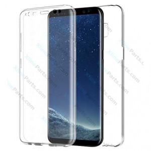 Silicone Case 360 Degree Samsung Galaxy S8 G950 Double Sided clear