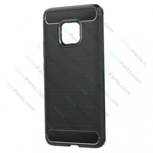 Silicone Case Carbon Huawei Mate 20 Pro black