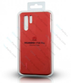 Silicone Case Huawei P30 Pro red (Original)