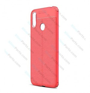 Silicone Case Auto Focus Huawei Y7 Prime (2019) red (Original)