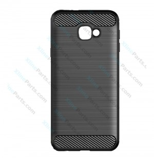 Silicone Case Carbon Samsung Galaxy J4 Plus (2018) J415 black
