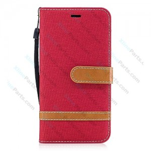 Flip Case Magnetic Huawei P10 Lite red