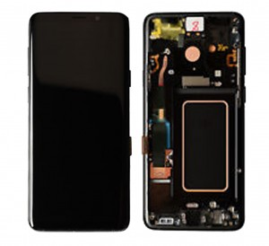 LCD with Touch and Frame Samsung Galaxy S9 Plus G965 black (Original)