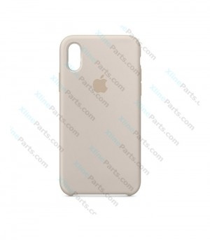 Back Case Apple iPhone XR Hard Case stone gray