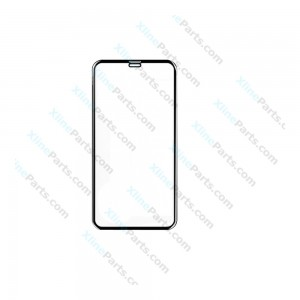 Tempered Glass Screen Protector 5D Apple iPhone X black