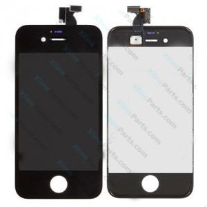 LCD with Touch Apple iPhone 4G black OCG