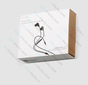 Phone Headset Baseus H10 Dual Moving-Coil 3.5mm Jack black (Original)