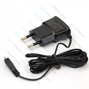 Travel Charger Samsung Micro USB 2 Pin Built-in Cable (Original)