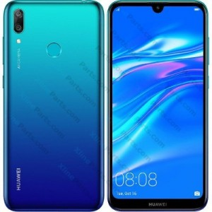 Mobile Phone Huawei Y7 (2019) Dual 32GB aurora blue