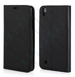 Flip Case Magnetic LG X Power black
