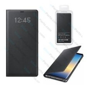 Flip Case Samsung Galaxy Note 8 N950 LED View Cover gray (Original)