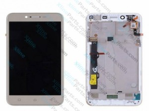 LCD with Touch and Frame Lenovo Vibe K5 gold OCG
