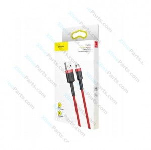 Data Cable Baseus MicroUSB 1m red (Original)