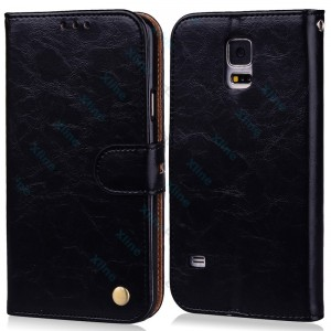 Flip Case Elegant Samsung Galaxy A6 Plus (2018) A605 black