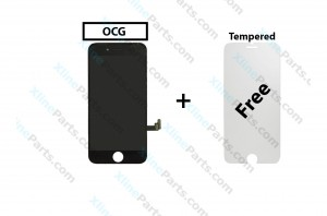 LCD with Touch Apple iPhone 8 Plus black OCG